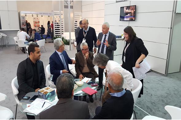 Visite de la MPC au salon CERAMITEC organisé à Munich du 20 ...
